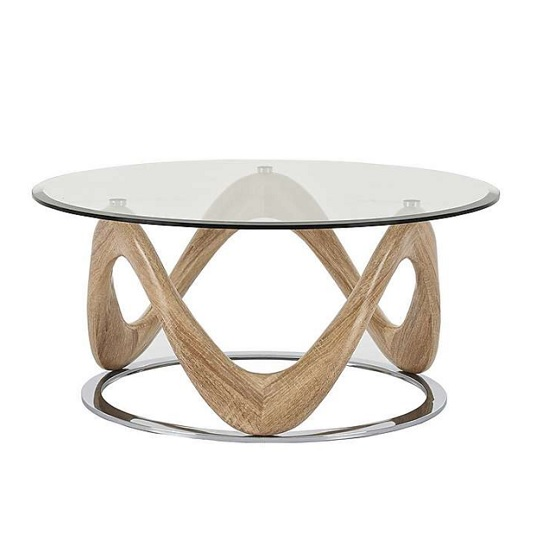 dunic coffee table - How to Decide Between a Wooden and Glass Coffee Table