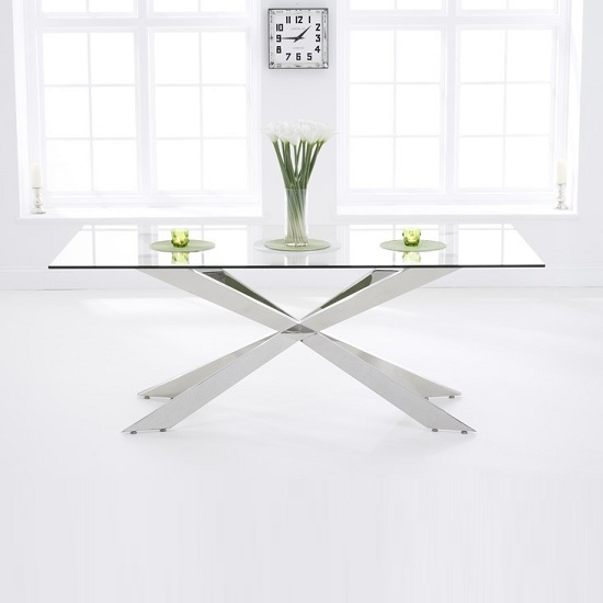 lindos glass dining table - Glass Dining Tables: Our Pick of the Best