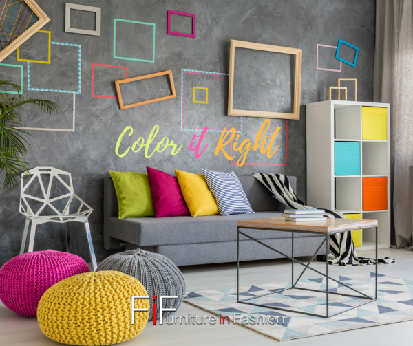 Add Colour To Your Living Room
