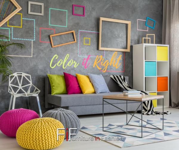 add colour to living room e1493999153757 - Budget Interior Decor Ideas for Your Home