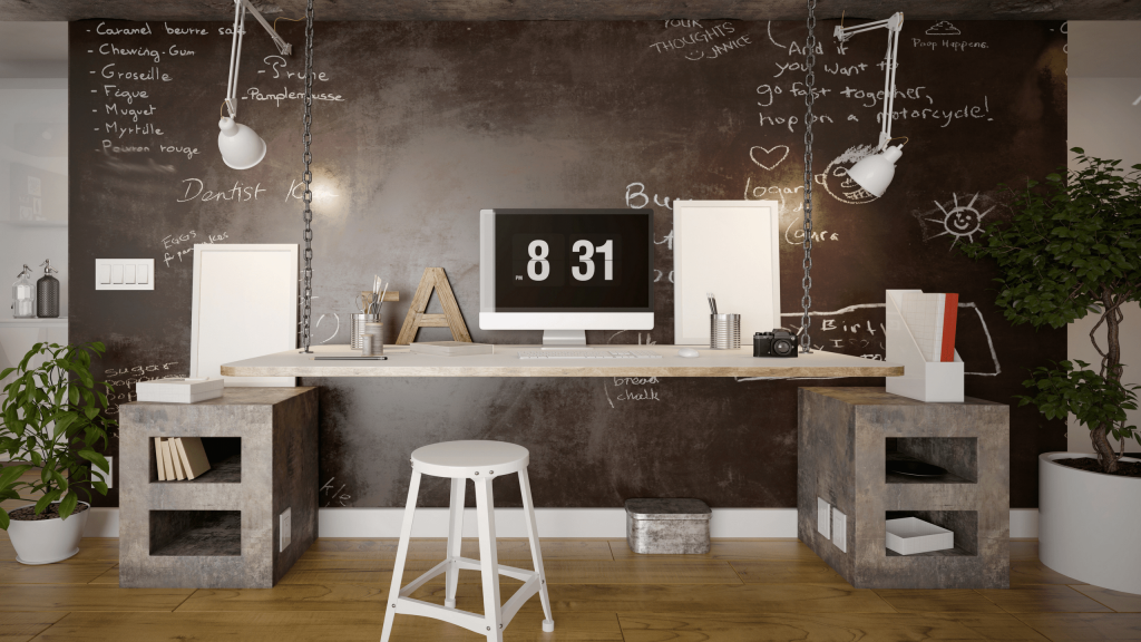 Follow these three tips to create the perfect home office