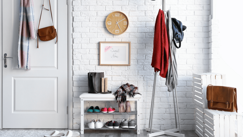 Shoe Storage 2 min 1024x576 - Clever Ideas For Organising Your Hallway Shoe Storage