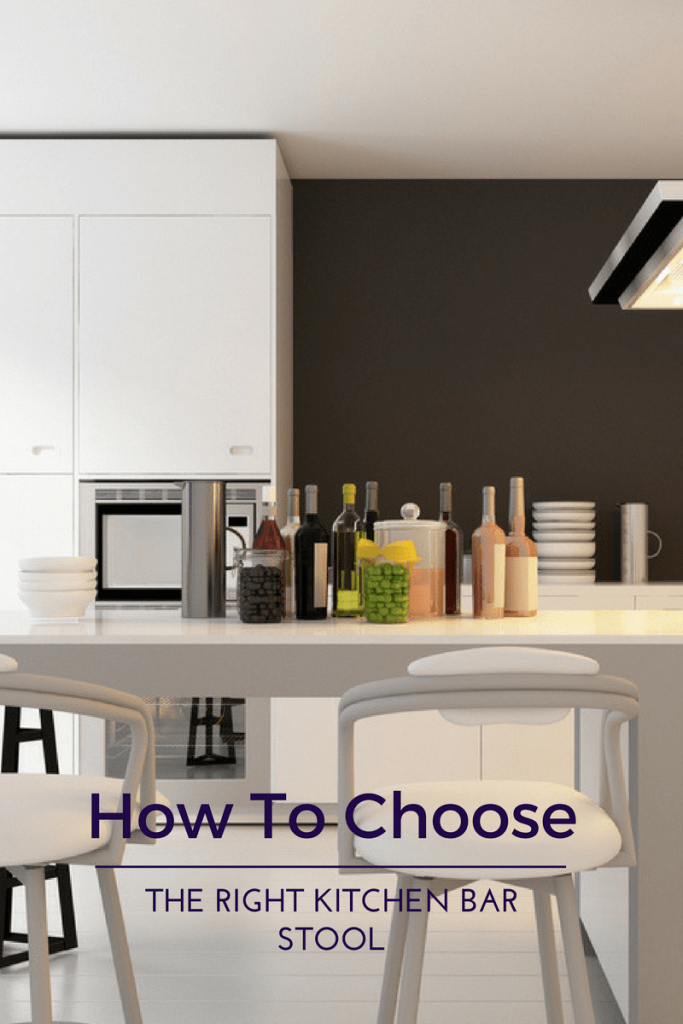 choose the tight bar stool 2 683x1024 - How To Choose The Right Kitchen Bar Stools