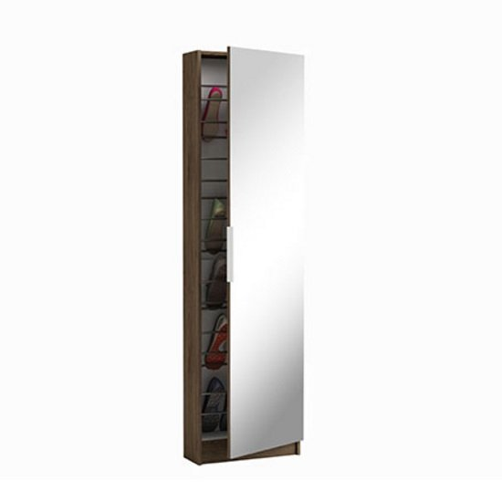 trieste mirrored shoe cabinet - 5 Great Home Shoe Storage Solutions From Our Current Range