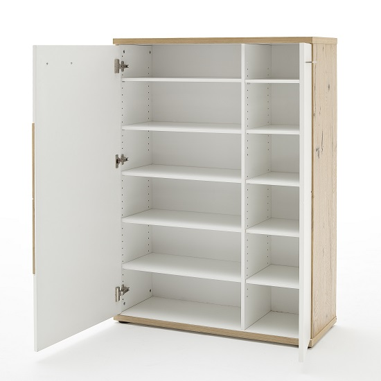 viola_wooden_left_shoe_cabinet_open