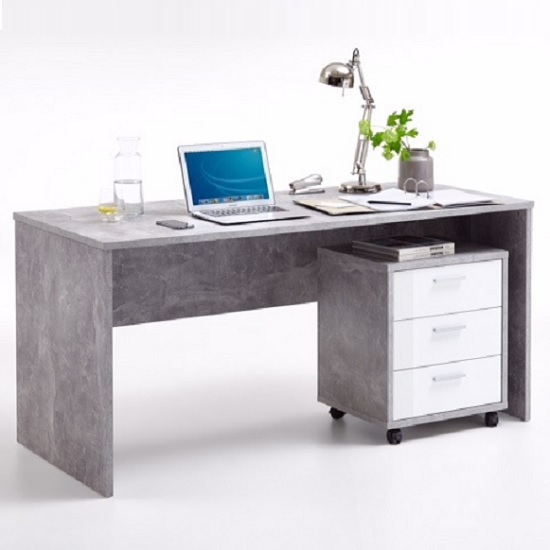 cooper computer desk light atelier with roller - What kind of computer desk would be best for you?