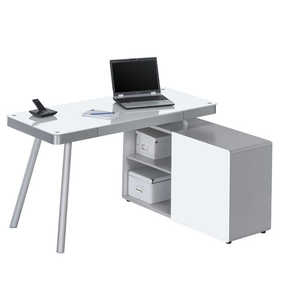 hadley glass corner computer desk - What kind of computer desk would be best for you?
