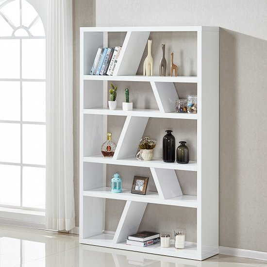 helix bookcase white gloss - A bookcase doesn't have to be just for books!