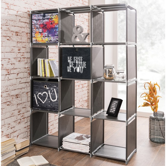 vetra shelving unit anthracite - A bookcase doesn't have to be just for books!