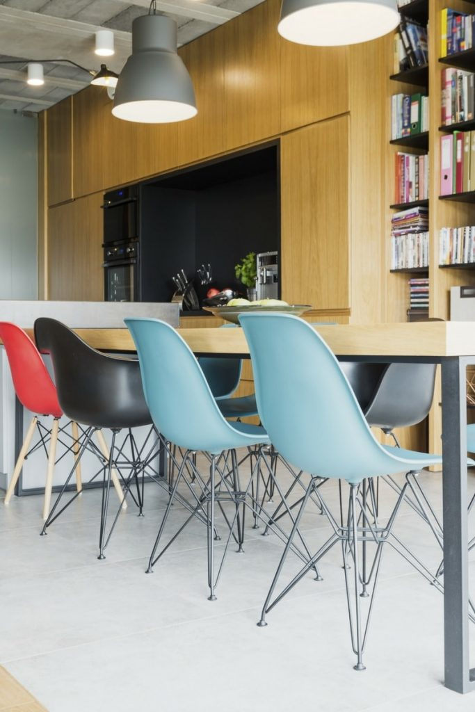 Multi coloured dining table and chairs 2 683x1024 - Multi coloured dining table and chairs