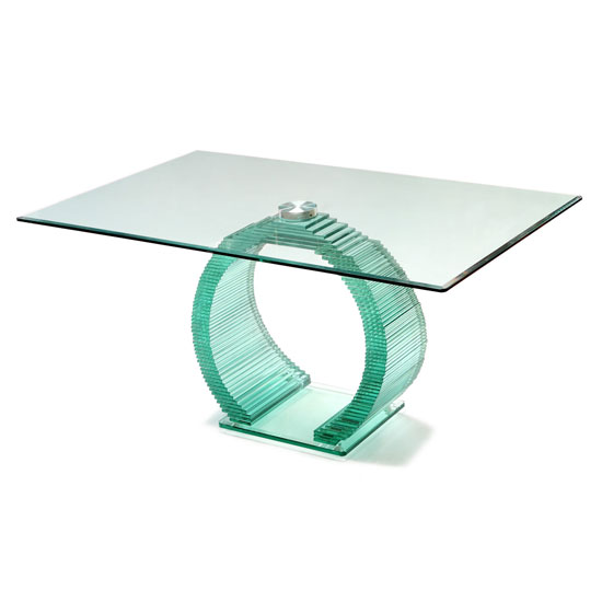 How To Make A Glass Dining Table With Glass Base Work In Your Dining Area
