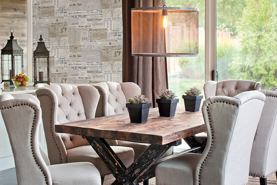 Ideas To Create Dramatic Dining Room To Impress Your Guests