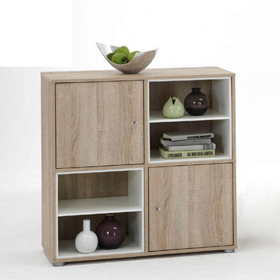 How To Furnish Any Interior With Stylish Wooden Sideboards And Bookshelf