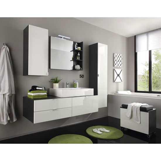 Examples Of Trendy Bathroom Furniture