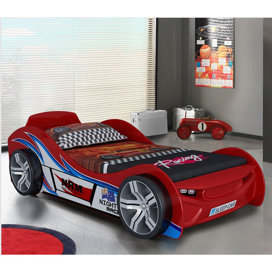 6 Stylish Examples of Fast Car Beds