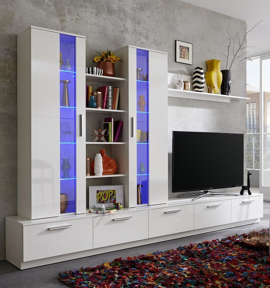 Stylish Entertainment Centers: Wall Units For Flat Screen TVs Decoration Tips