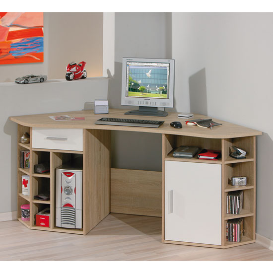 Corner Computer Desks For Small Rooms: Choose Your Functionality