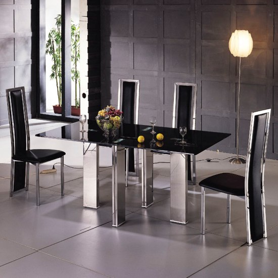 6 Benefits Of Buying Black Glass Extending Tables London