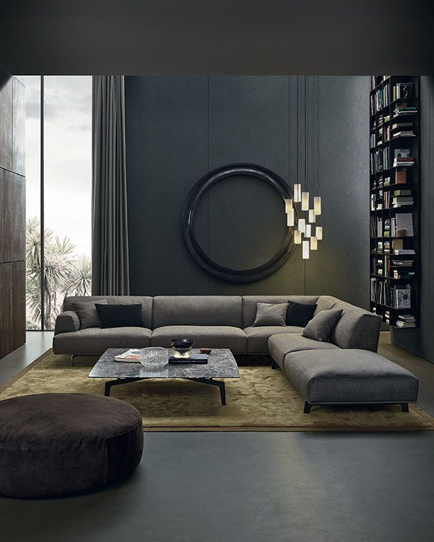 8 Stylish Living Room Ideas With Dark Furniture To Make Your Interior Special