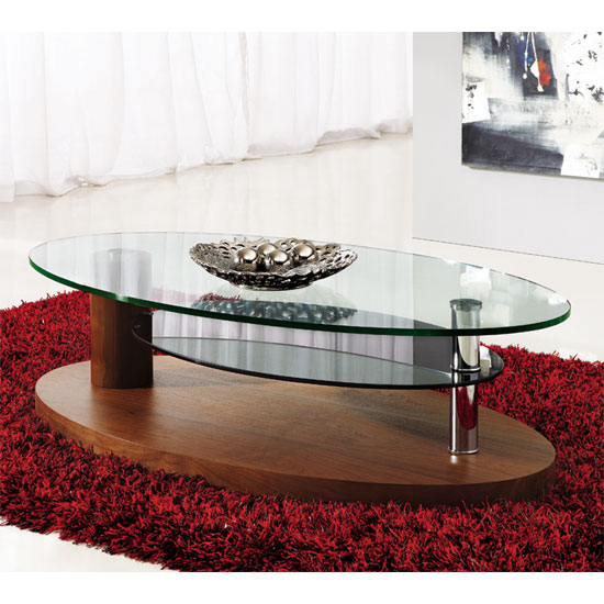 4 Popular Designs Of Coffee Tables With Rounded Corners