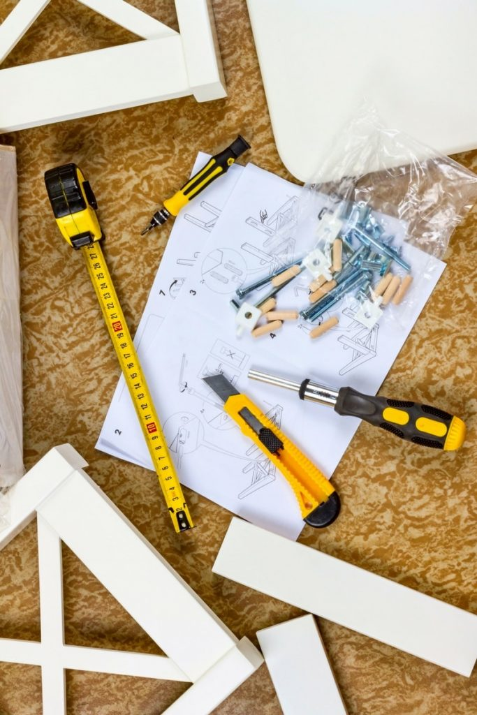 assembling flat pack furniture 6 683x1024 - Top tips for assembling flat pack furniture without any hassle