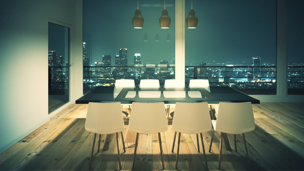 Different Styles of Glass Dining Tables