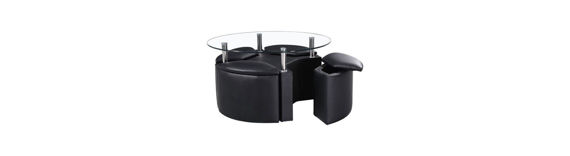 Different Assemblies Of A Round Coffee Table With Storage And The Perks They Offer