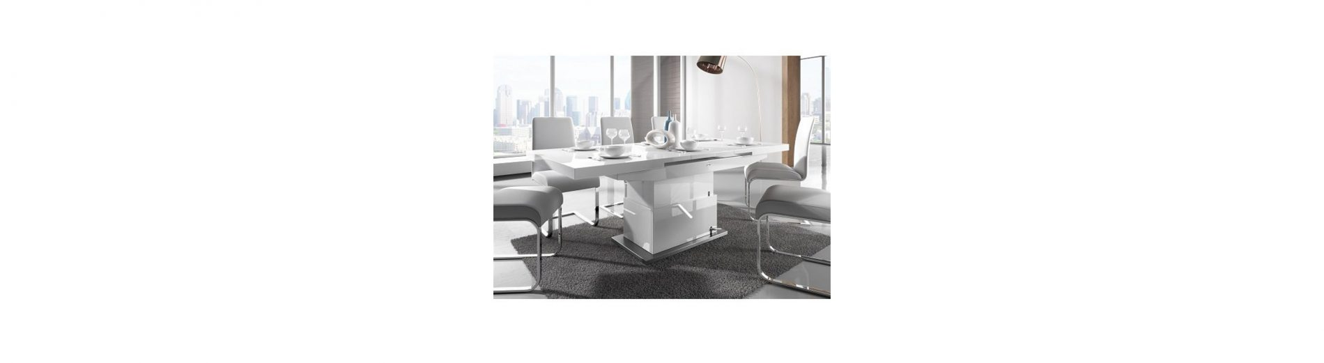 Elgin Introduces New Approach To Space Efficiency: Coffee Tables Convertible Into Dining Tables