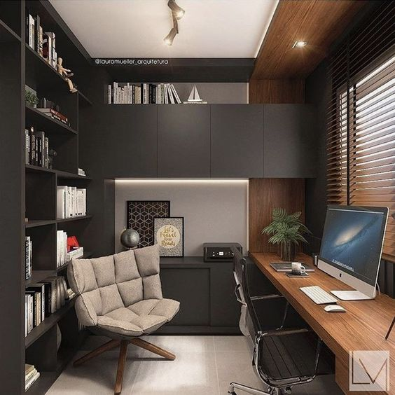 home office furniture design for men furniture in fashion 8 min - How to create a Mid-century modern home office