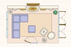 Be Your Own Designer  10 Flawless Ways to Lay Out a Living Room 300x200 - Popular Sofa Arrangements to Maximize Your Living Room Layout