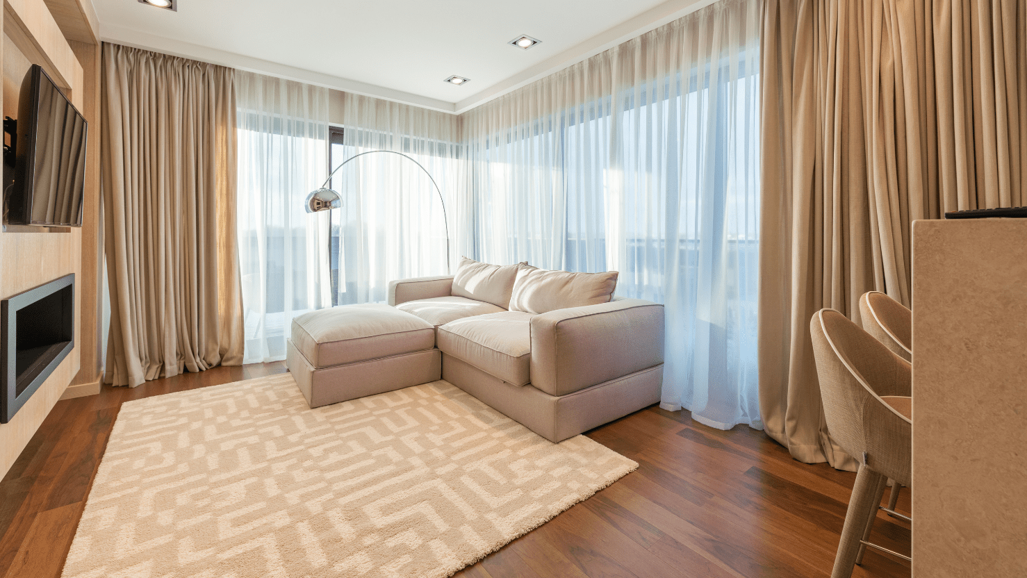 Tips on hanging curtains without damaging walls or window frame